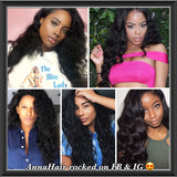 Brazilian Body Wave Human Hair - annahair