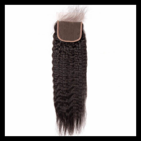 Brazilian Kinky Straight Lace Closure - annahair