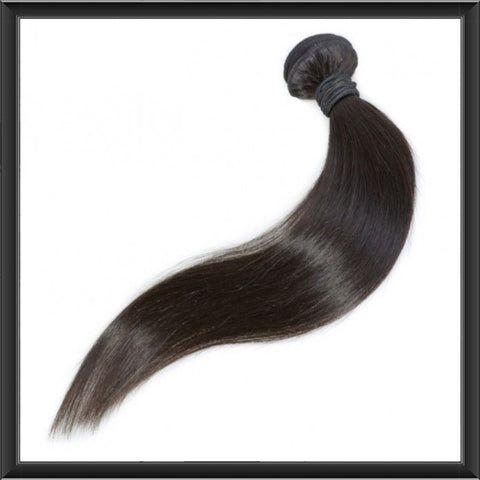 Peruvian Straight Virgin Human Hair Weave Bundle - Anna Hair Co. - 1