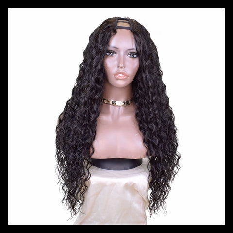 Customised Natural Waves U-part Clip-in Unit