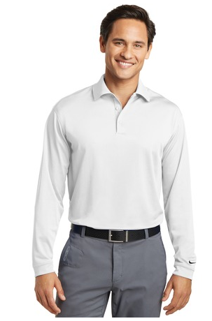 Nike Golf Long Sleeve Dri FIT Stretch Tech Polo. 466364.