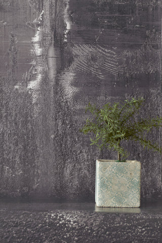 Metal Oxidation Gray Wallpaper
