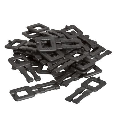 12mm Hd Black Plastic Buckles (1000)