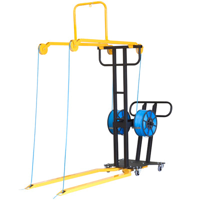Mobile Pallet Pp Strapping Frame Applies 2 Vertical Straps To Uk/Euro Pallets Up To 1.8M High