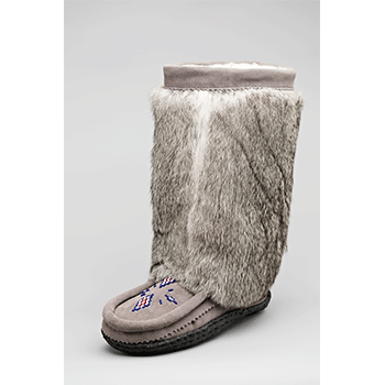 10 inch split cowhide grey mukluks great plains moccasins
