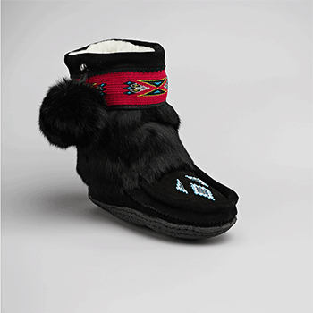 mypups black mukluk great plains moccasin factory