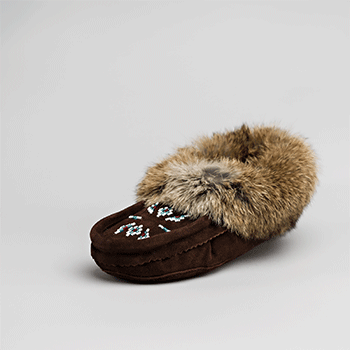 brown moccasin great plains moccasin factory