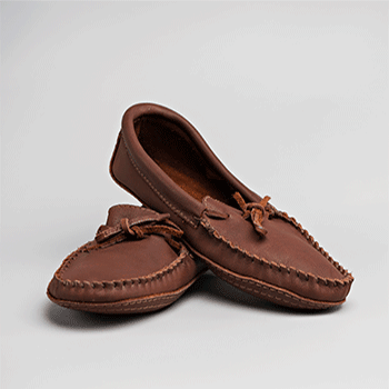 Buffalo Leather Moccasin Leather Cuff Trim - Adult