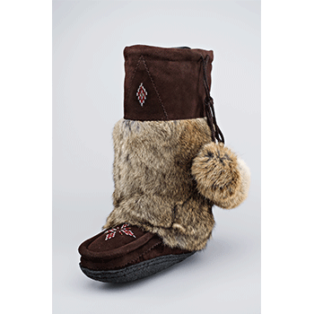 brown mukluks great plains moccasins