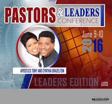 2016 Pastors & Leaders Conference Series - Leaders Track