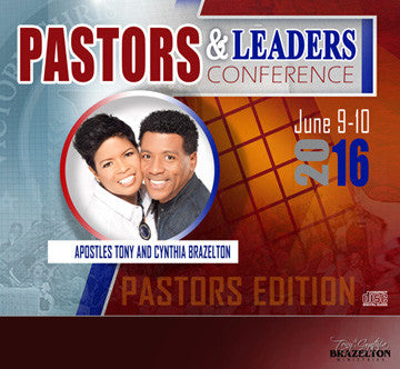 2016 Pastors & Leaders Conference Series - Pastors Track