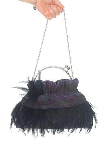 Feather Clasp Bag