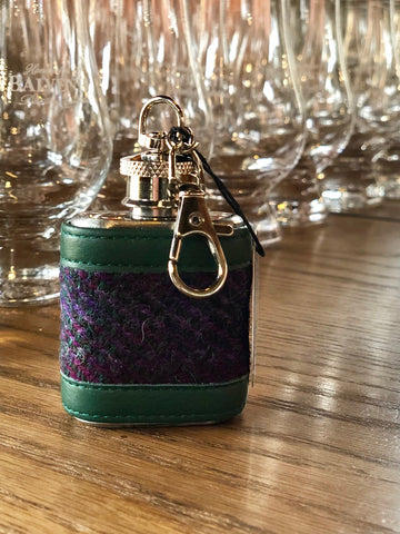 Mini Hip Flask Key Ring