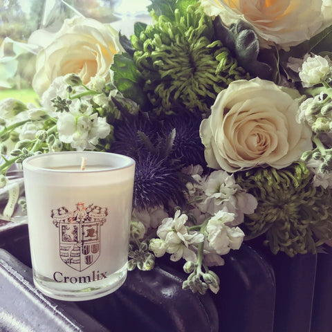 "Amber and Bergamot Timeless ""Cromlix"" Candle"