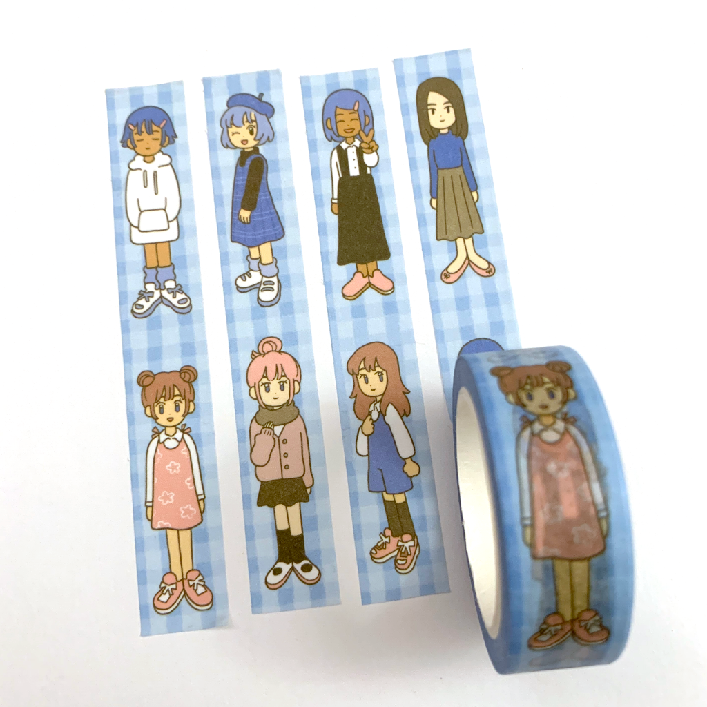 Girls Blue ~ Washi Tape