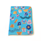 3D Erasers Blue ~ card wallet