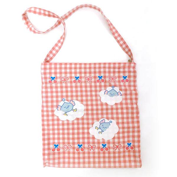 Cherry Ribbon Bag