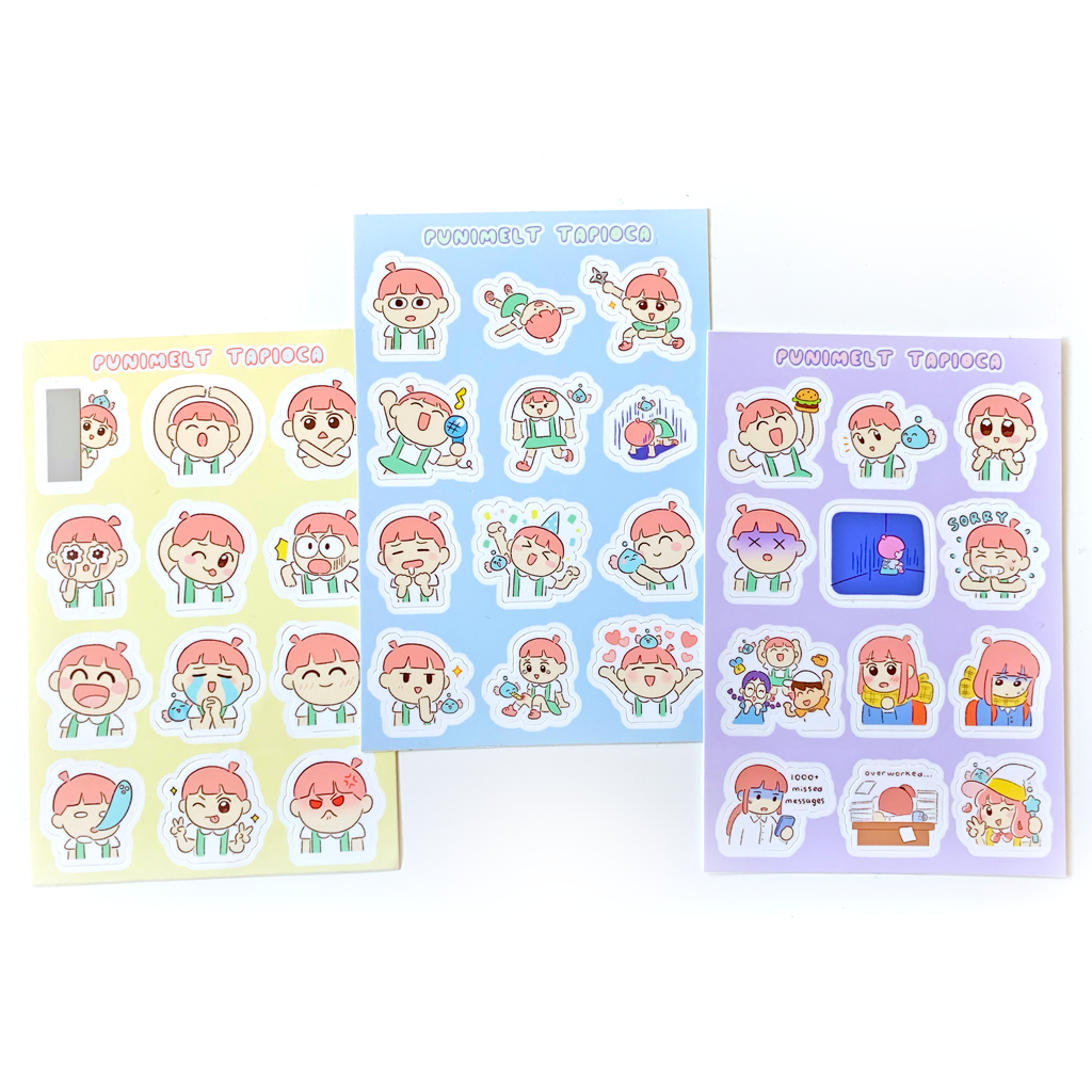 Tapioca ~ sticker set