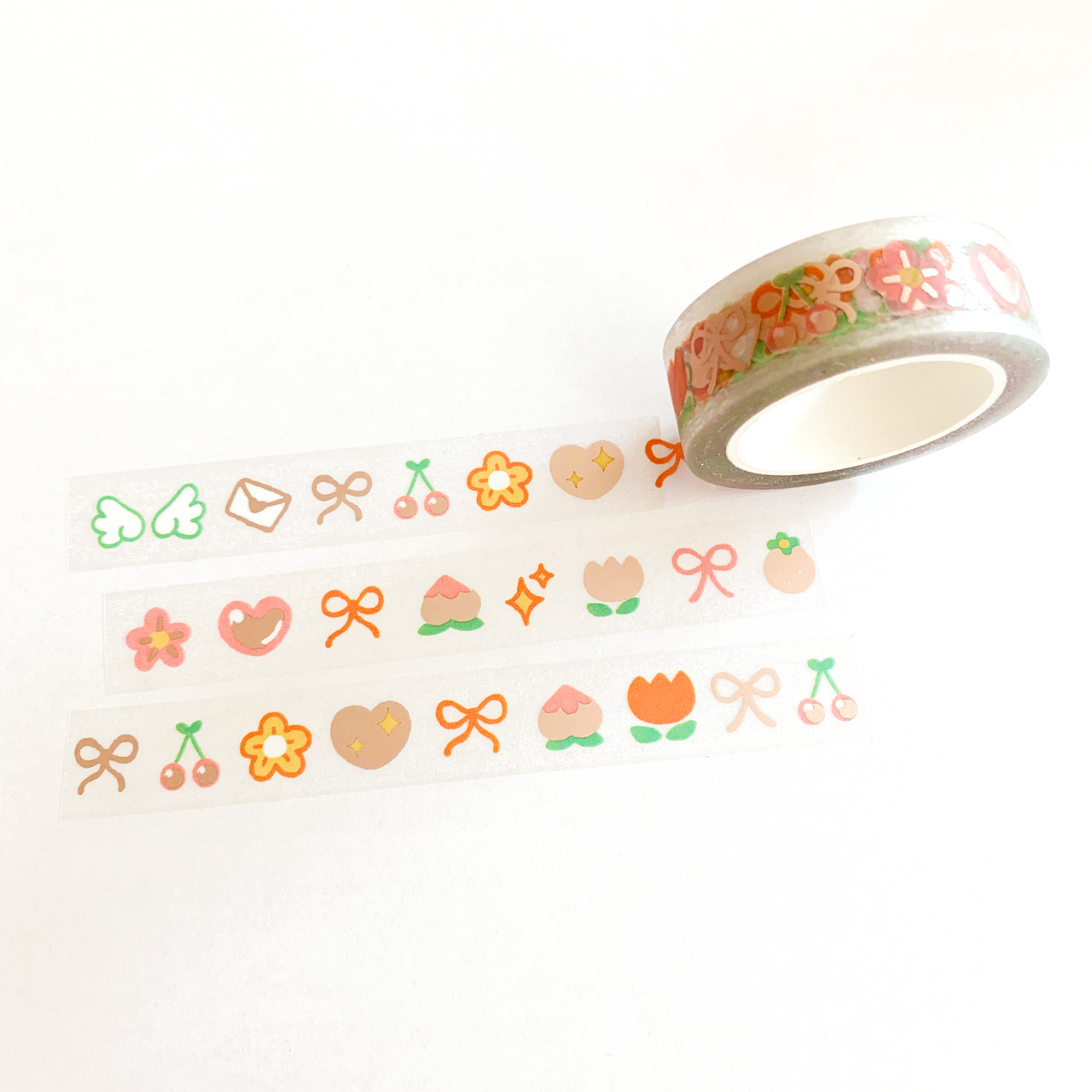 Gentle ~ Clear Foil Washi Tape