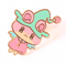 Berry Hamster Witch ~ enamel pin