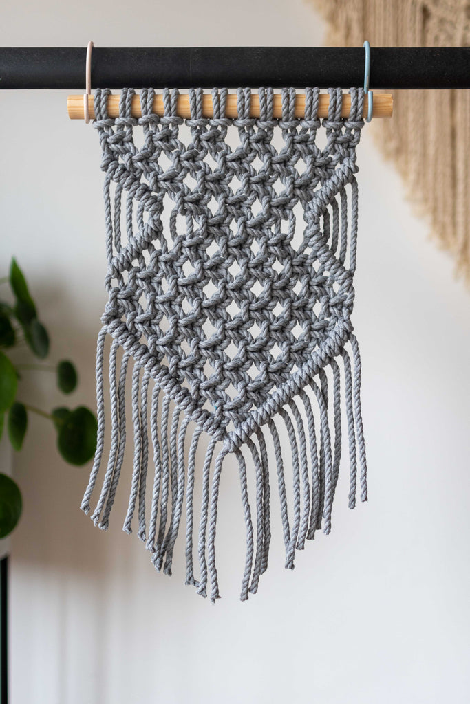 Pattern - Macramé Wall Hanging 'Grey'