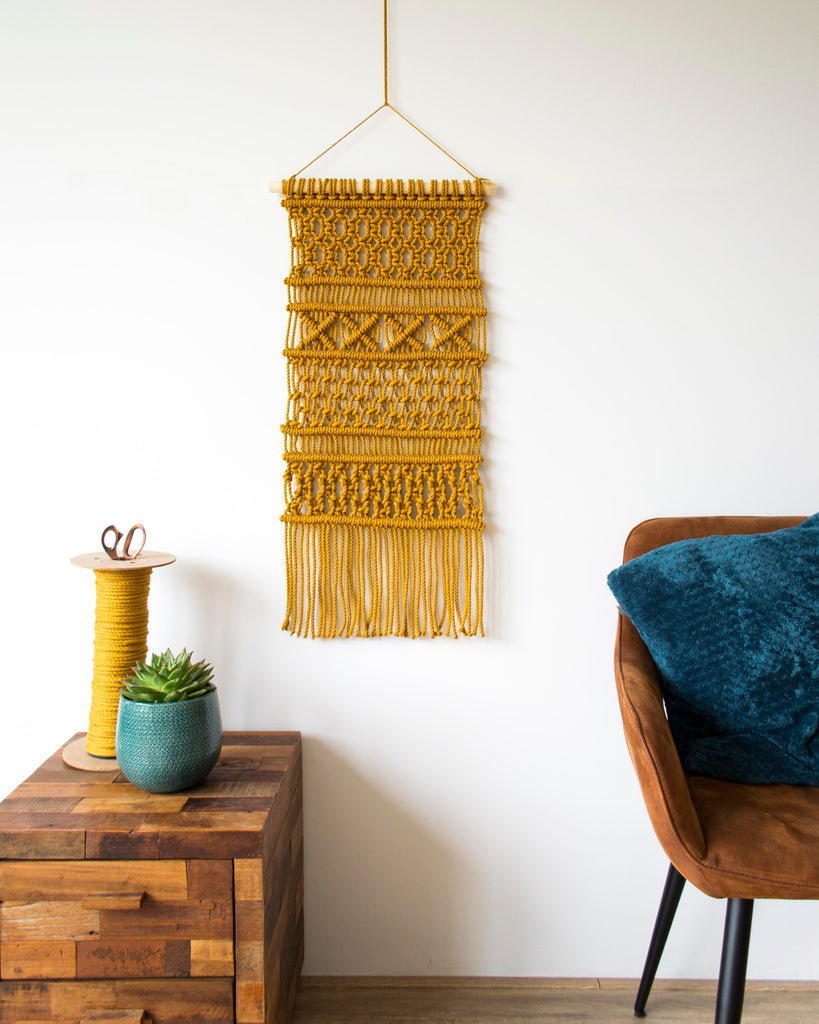 Pattern - Macrame Wall Hanging