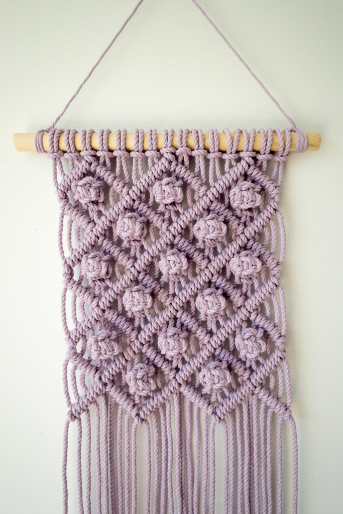 Pattern - Macrame Wall Hanging Pattern 'Berry'
