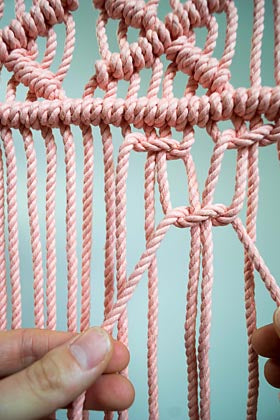 Double Half Square Knot