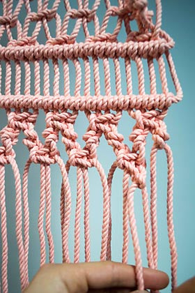 Square Knot and Half Hitch