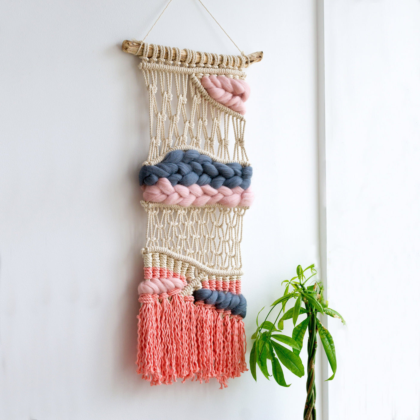 Macrame wall hanging / nursery decor / One of a kind