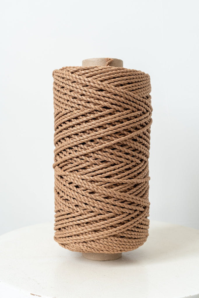 Macrame Rope / 3MM / 450 Feet /  140 Meter / Twisted Cotton Rope / 2 ply / 0.6KG
