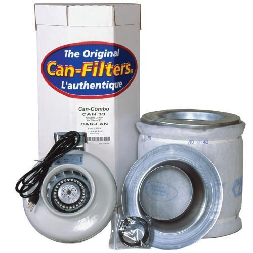 Can-Filter Pre Packaged Can 33 w/ Can-Fan 6 in 270 CFM