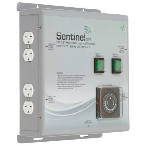 Sentinel GPS HPLC-8T High Power Lighting Controller 8 Outlet with Timer