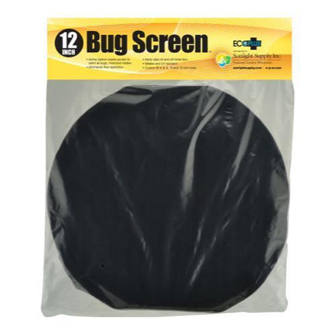 Bug Screen w/ Active Carbon Insert 12 in