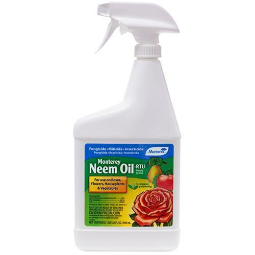 Monterey Neem Oil RTU Quart (12/Cs)
