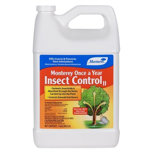 Monterey Once A Year Insect Control II Gallon (4/Cs)