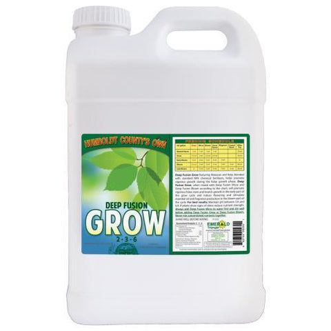 Emerald Triangle Deep Fusion Grow 2.5 Gallon (2/Cs)