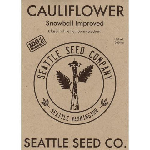 Cauliflower - Snowball Improved OG, Pack of 6