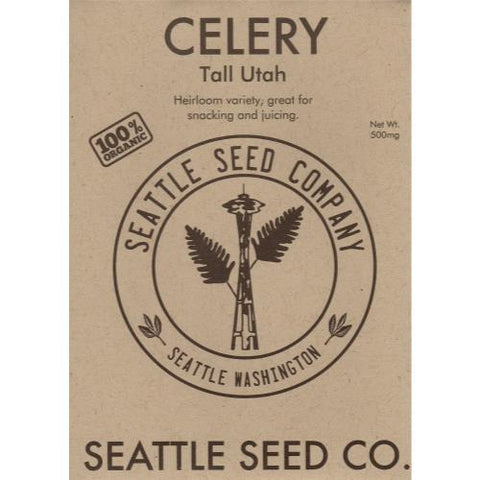 Celery - Tall Utah OG , Pack of 6