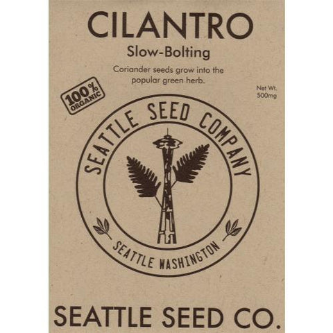 Cilantro - Santo Slow Bolt OG, Pack of 6