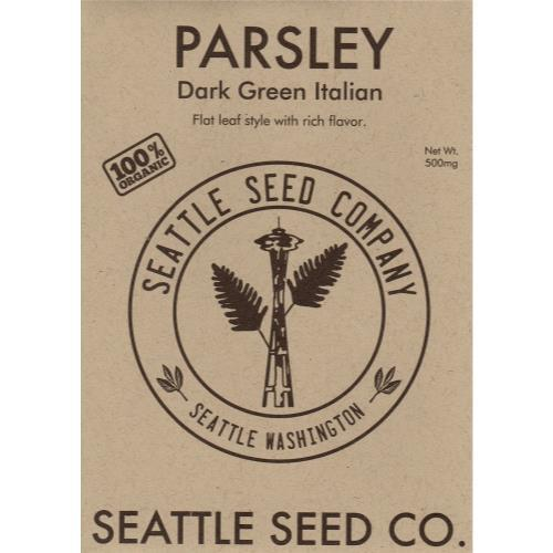 Parsley - Dark Green Italian Flat Leaf, Pack of 6