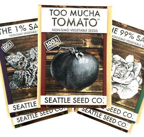 Boxed Seed Collection - The 99% Salad, Case of 4