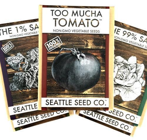 Boxed Seed Collection - Too Mucha Tomato, Case of 4