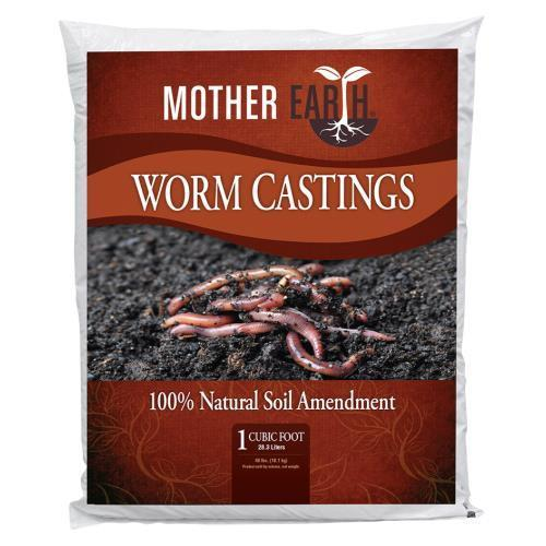 Mother Earth Worm Castings 1 cu ft (50/Plt)