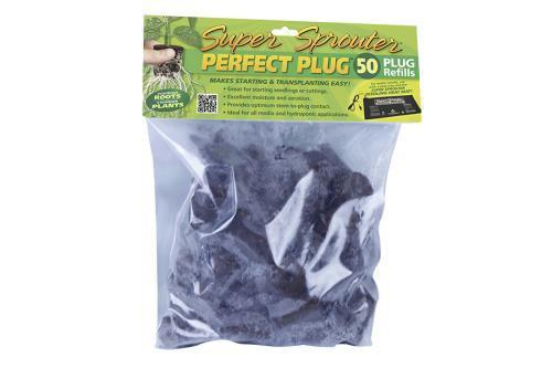Super Sprouter Perfect Plug Custom Blend Refill Pack 50/Count (20/Pack)