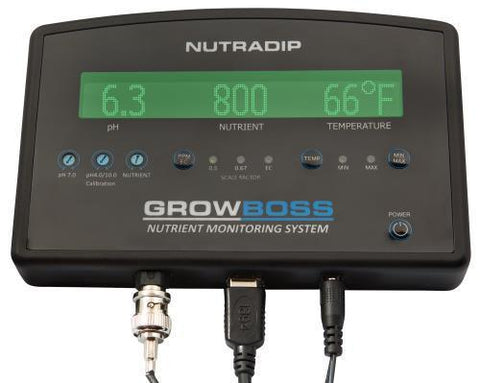 Future Harvest Grow Boss - Nutrient Monitor (4/Cs)