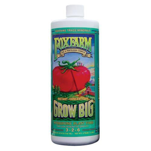 FoxFarm Grow Big Hydroponic Quart (12/Cs)