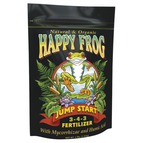Happy Frog Jump Start Fertilizer 4 lb (12/Cs)