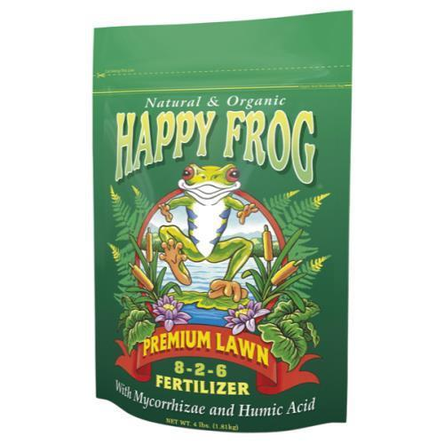 Happy Frog Premium Lawn Fertilizer 4 lb (12/Cs)