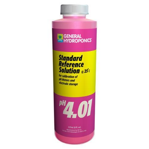 GH pH 4.01 Calibration Solution 8 oz (12/Cs)